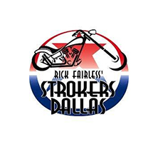 Rick Fairless' Strokers Dallas Logo