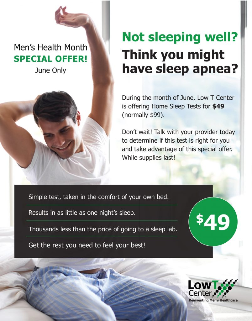Low T Center - Sleep Apnea & HST Special
